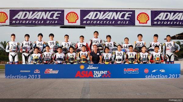 22 Pembalap terpilih Shell Advance Asia Talent Cup 2014