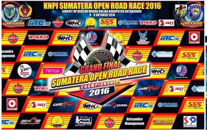 grand final Sumatera Open road race