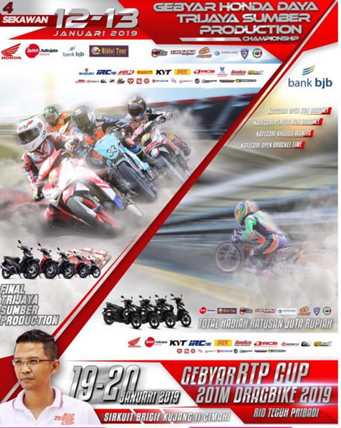 2 event besar RTP cup 2019