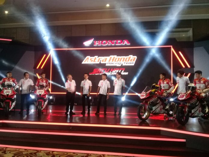 Team Astra Honda Racing 2019