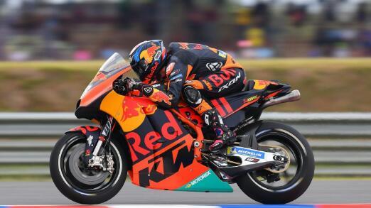 Brad Binder Moto2 Prancis 2019