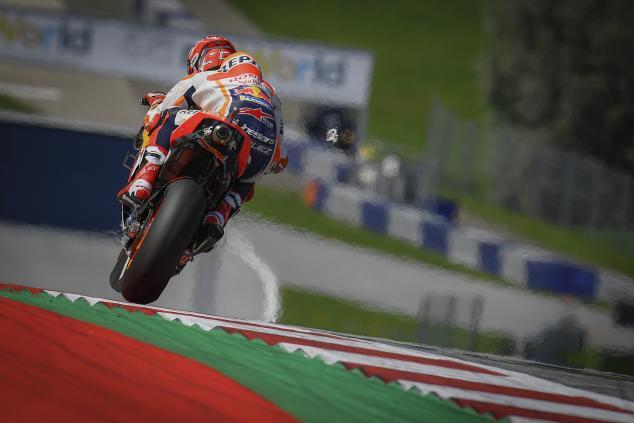 Penyebab Crash Marc Marquez di FP1 MotoGP Thailand 2019