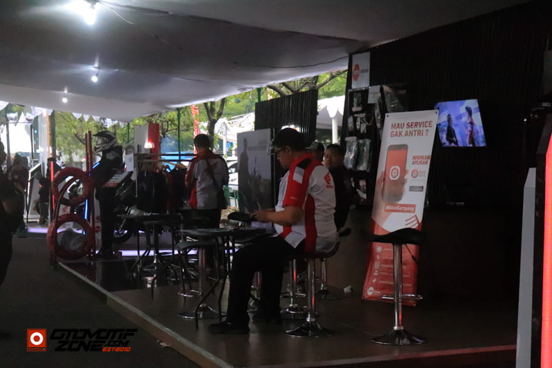 Booth Honda Matic Premium