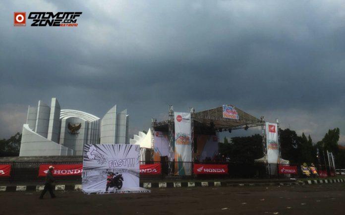 Kejutan Festival Honda yang berlangsung di Monumen Perjuangan Rakyat Jawa Barat