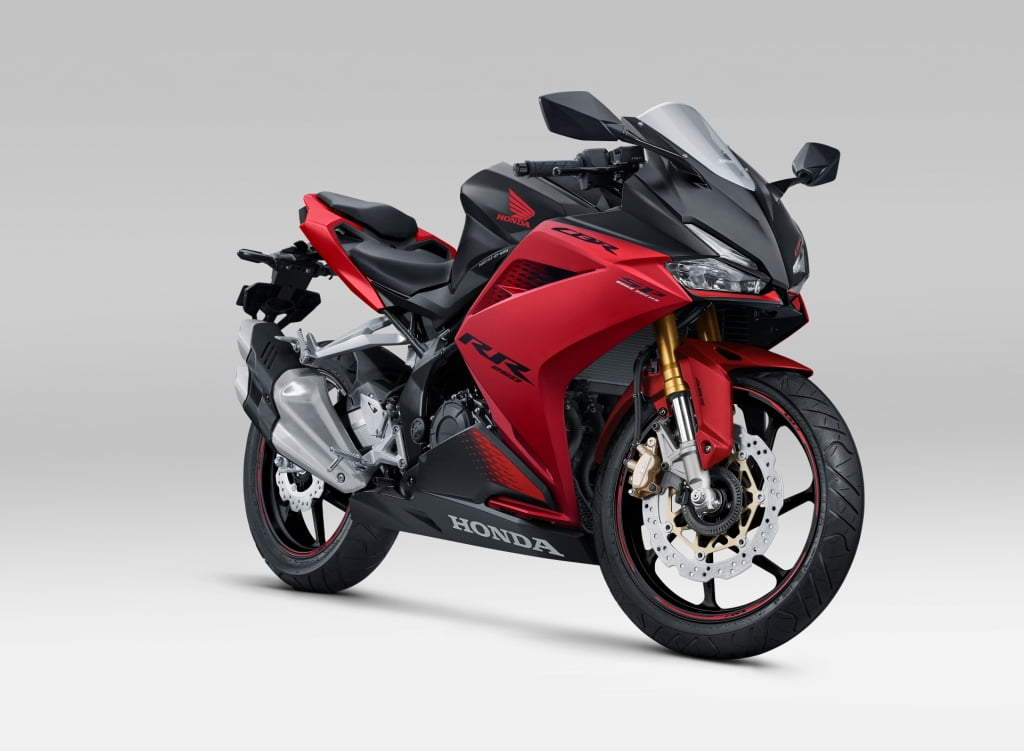 Honda CBR250RR SP Bravery Red Black